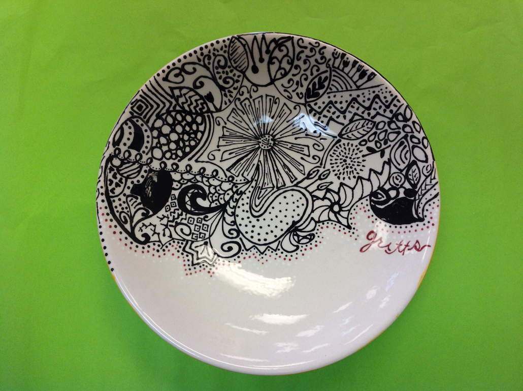 Ceramic Paintings & Cheap Ceramic Plates - Castrophotos