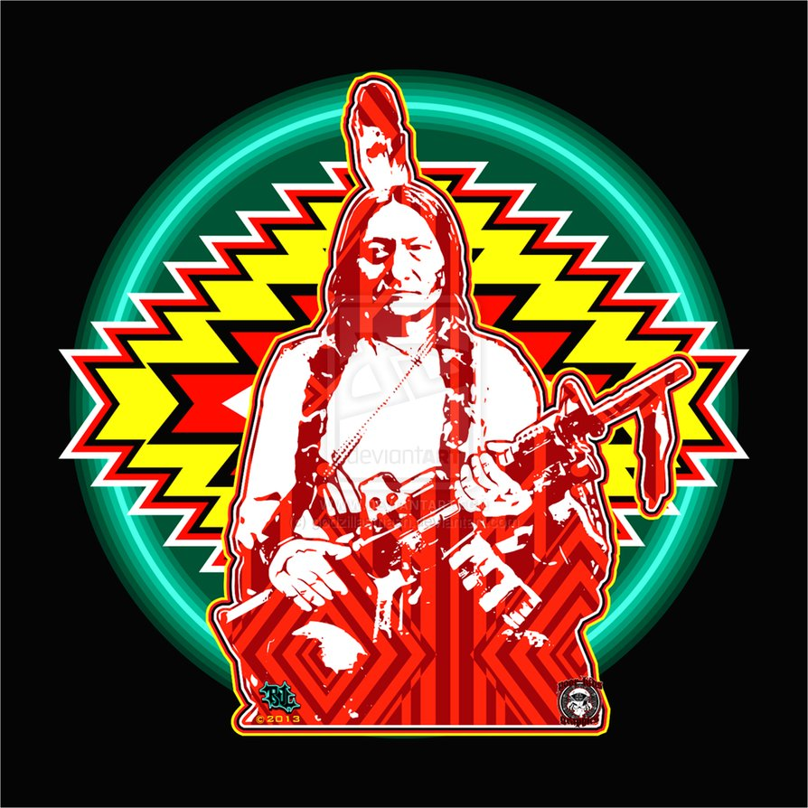 "sitting bull and the medicine line Wounded knee is hailed as ""it was a time to look at the commitment we made and a willingness to put our lives on the line sitting bull, the."