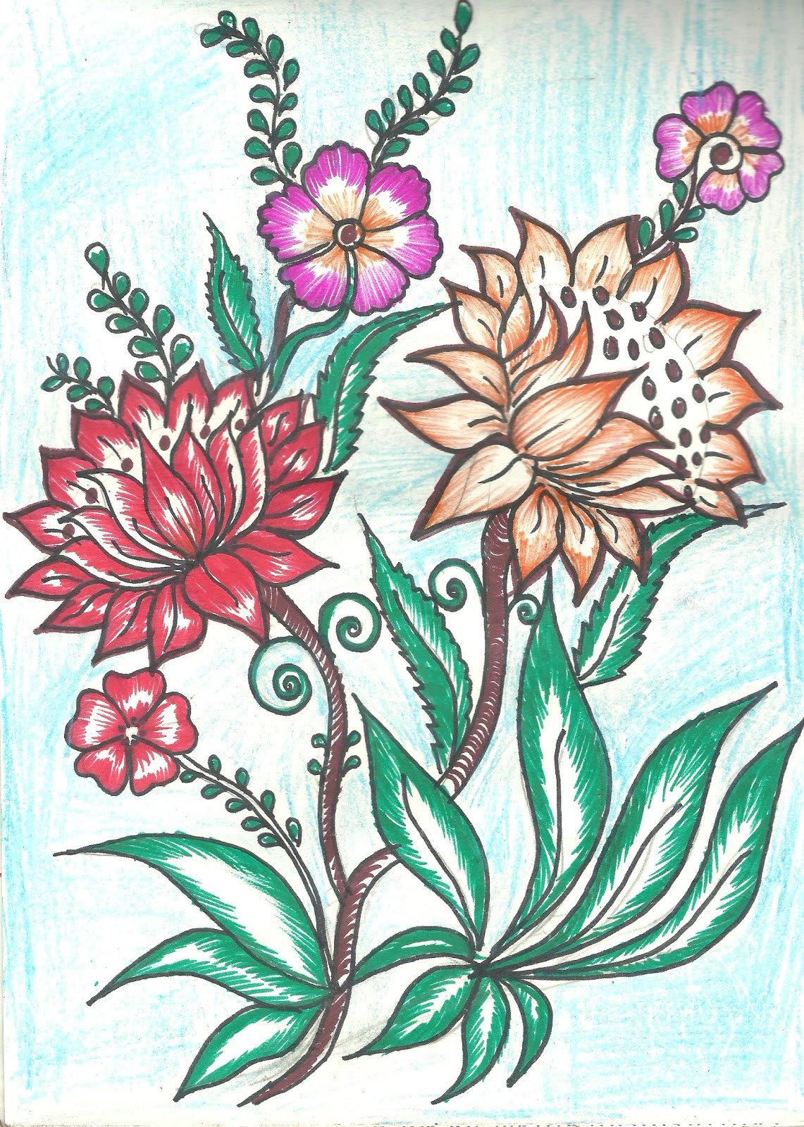 Butterfly designs for fabric painting