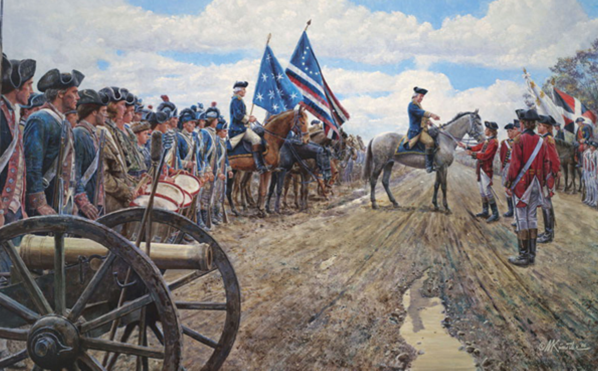 an overview of george washingtons escape from the british army at new york When the british army raised a new washington moved his army outside of new york george washington and the new american nation focuses on last 10.