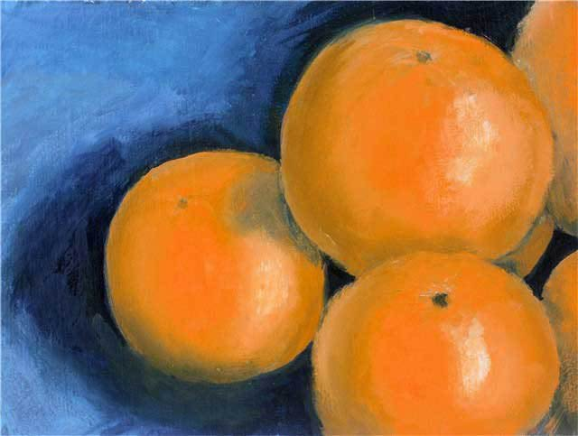 complementary colour paintings