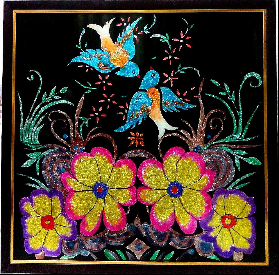 Beautiful Glass Paintings