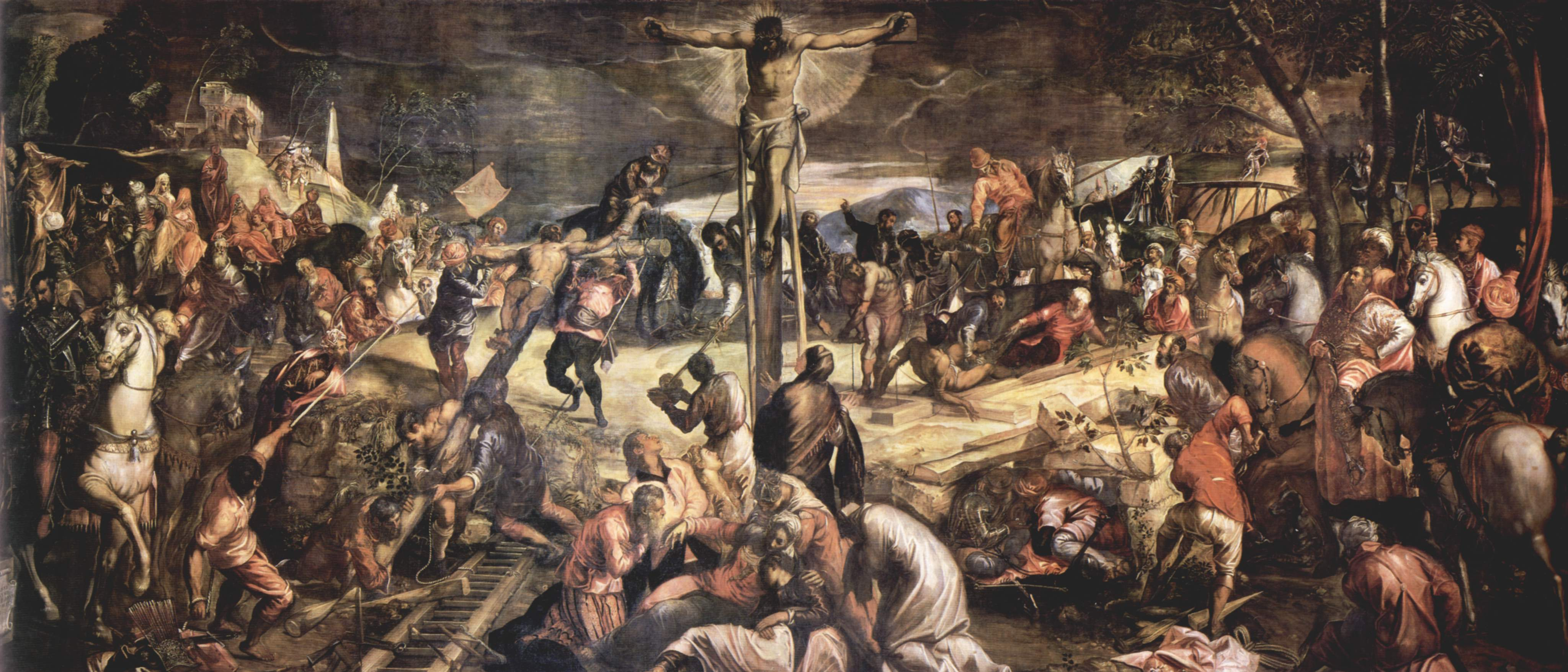 an analysis of the renaissance depiction of the crucifixion Andrea mantegna, dead christ, tempera on canvas prepare with these 4 lessons on renaissance in to imagine what it was like to be at the crucifixion.