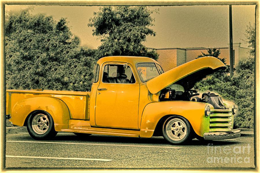 Vintage Truck paintings