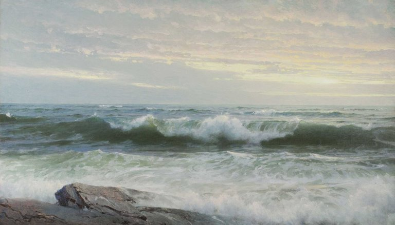 Seascape Watercolor Paintings