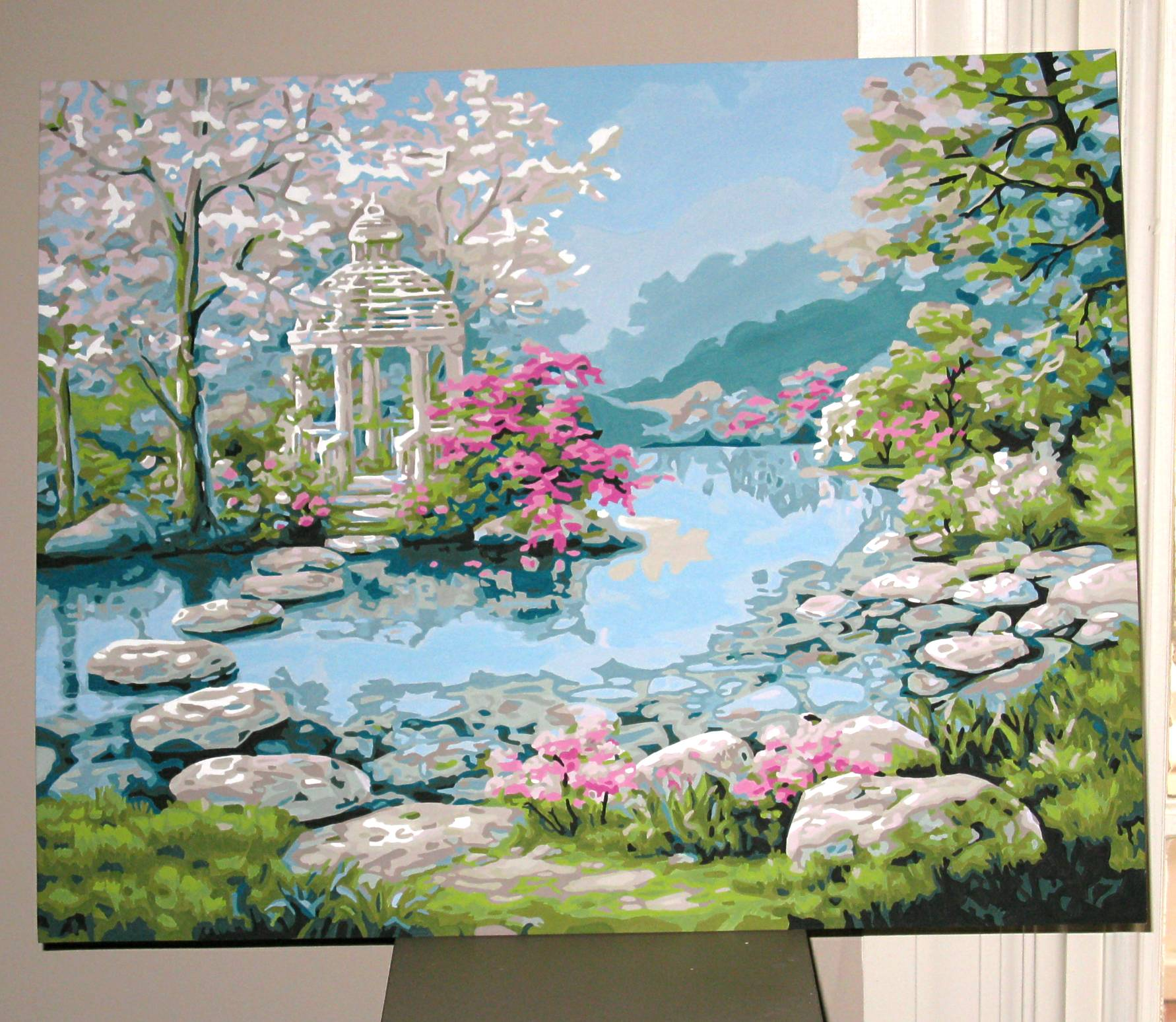 Japanese Garden Paintings