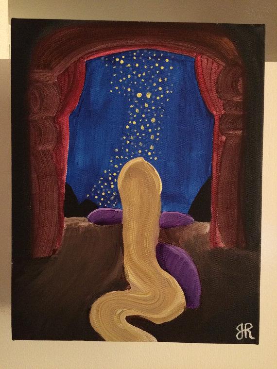Disney Acrylic Paintings
