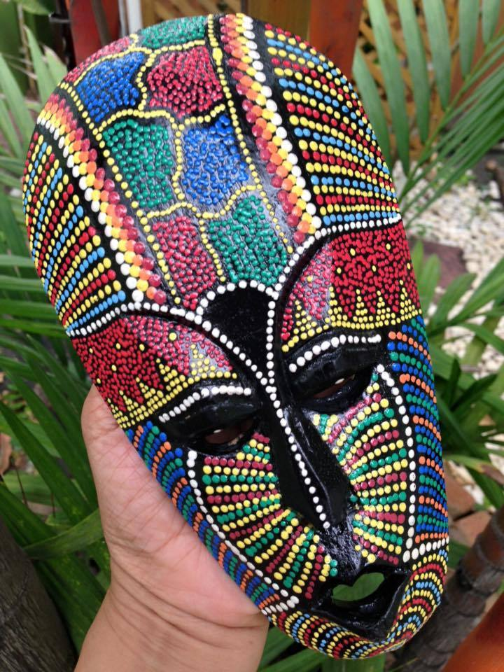 African Dot Paintings
