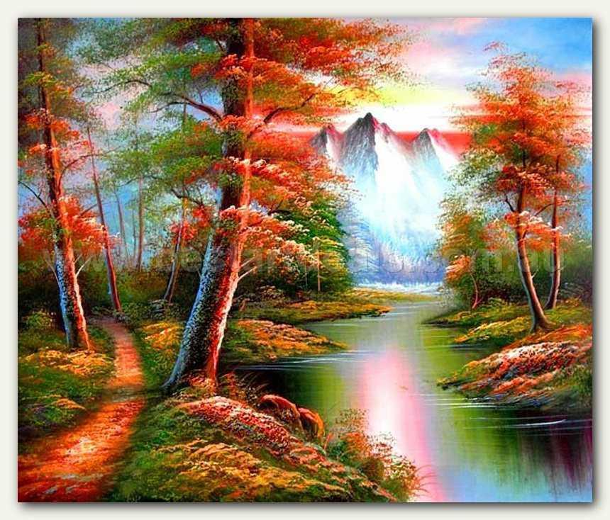 Natural Landscape Paintings