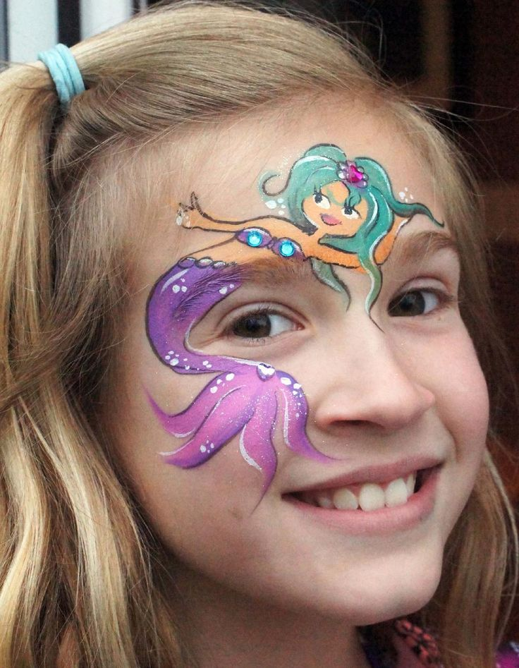 Easy Halloween Face Painting Beginners