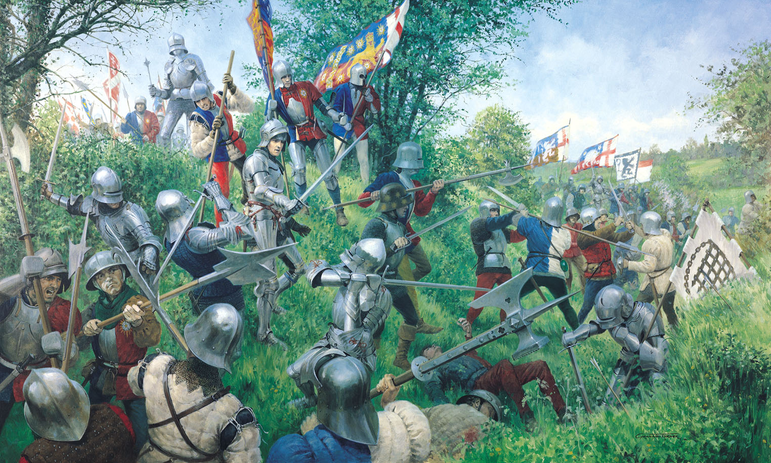 the importance of medieval tactics in the history of war Invention of gunpowder changed war tactics, political landscapes, world history during medieval most military history scholars believe that gunpowder first.