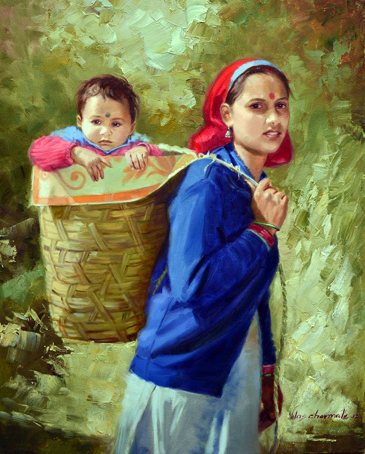 Mother India paintings