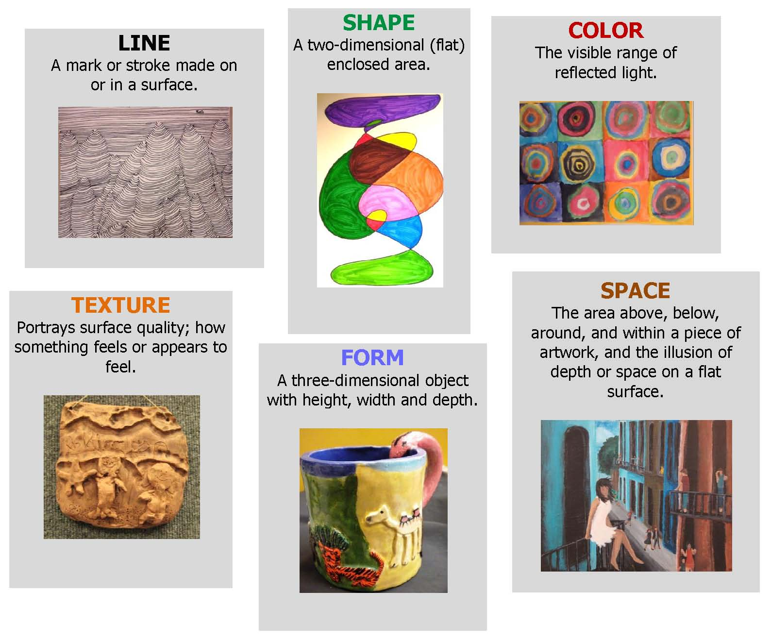 Elements Of Visual Arts : Elements of paintings