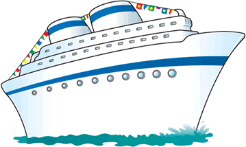 Cruse Paintings - Draw a cruise ship