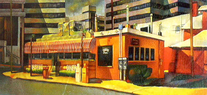 Diner paintings for Diner painting