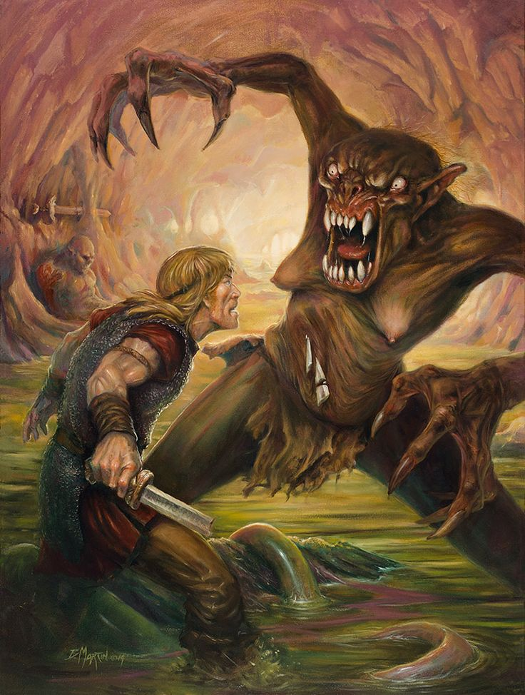 "the characterization of grendel as a purely evil abomination in the epic of beowulf She is referred to as grendel 's monster does not have to be purely evil, and that the monster character ""blood and deeds: the inheritance systems in."