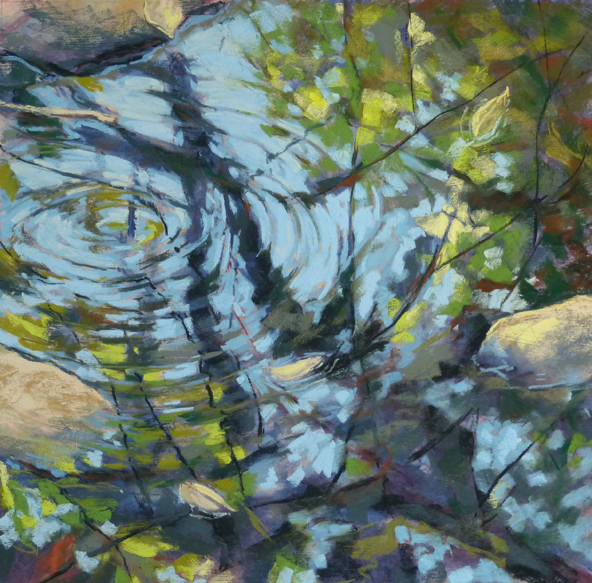 Water Reflection Paintings