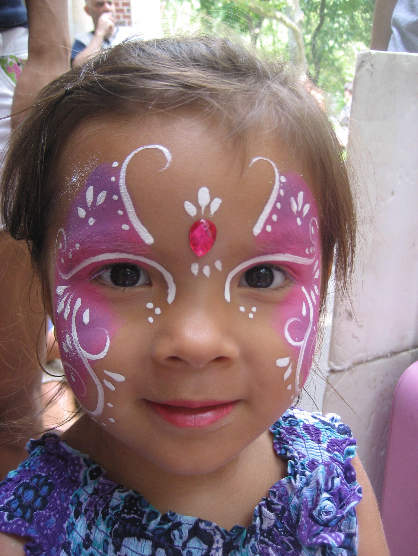 Фото роспись по лицу дети