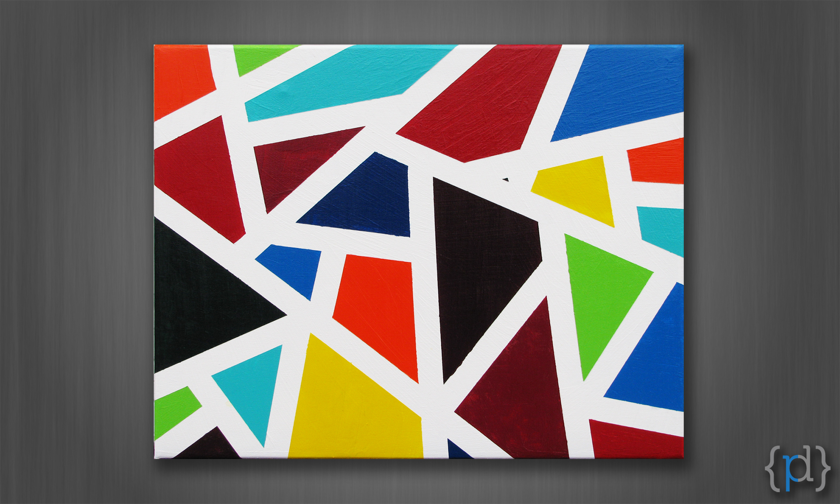 Shape Art : Shapes paintings