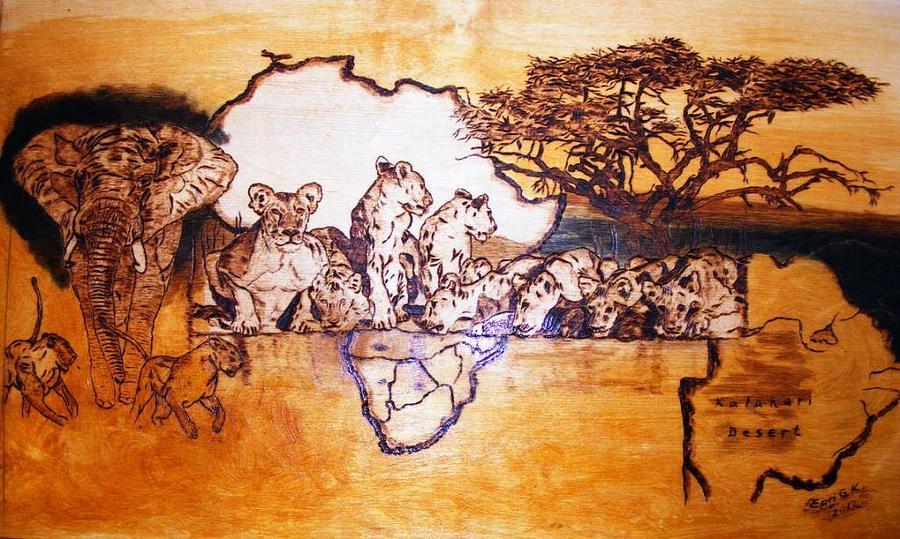 Safari paintings