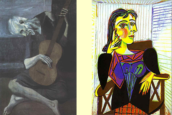 What can i write for my GCSE essay on Pablo Picasso's