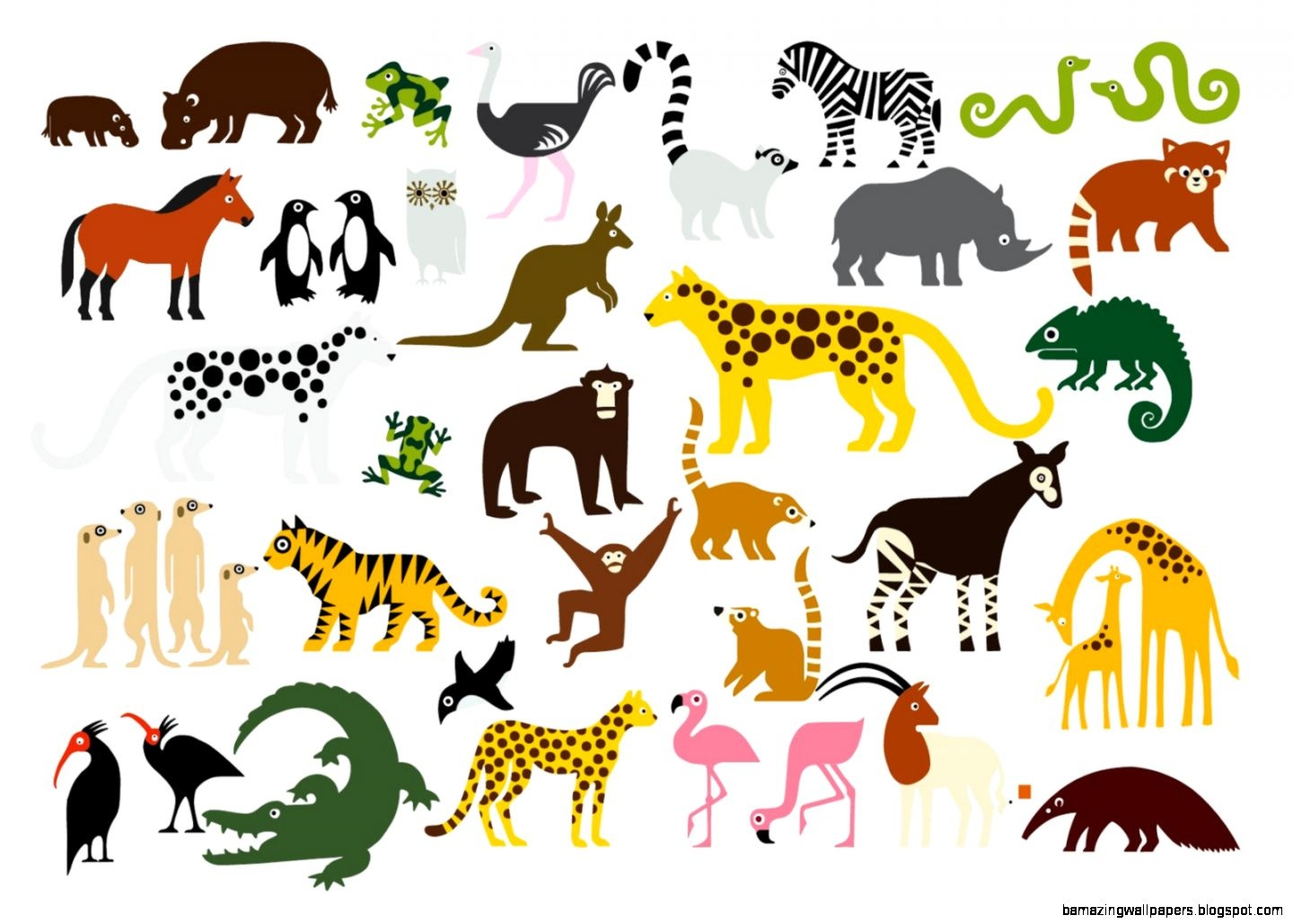 Animated images of animals