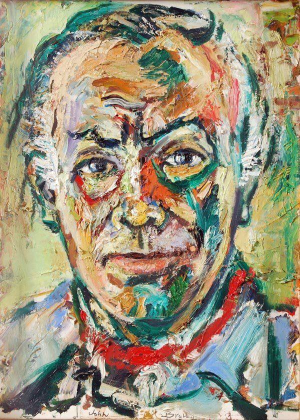 John Bratby paintings