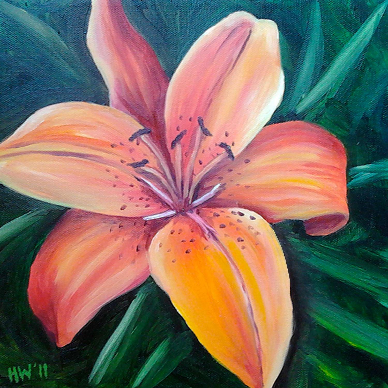 Hawaiian flower paintings izmirmasajfo Images
