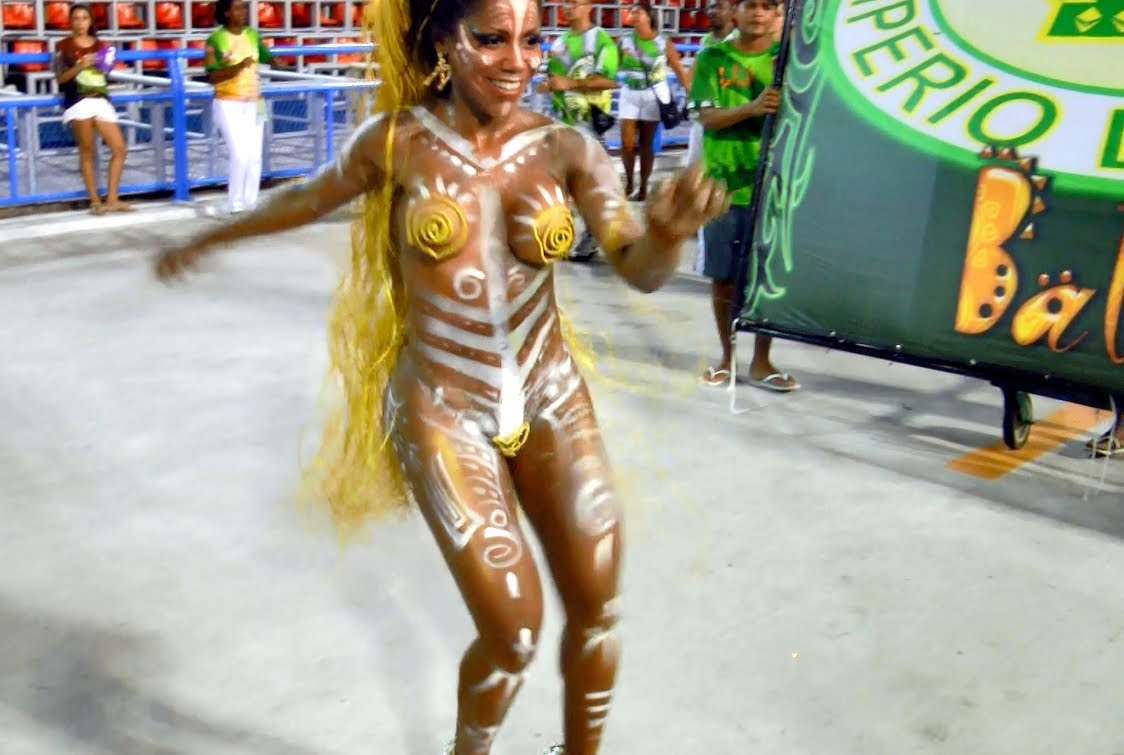 Brazil Body Paint World Cup