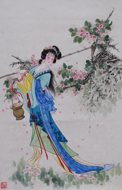 China Watercolor paintings