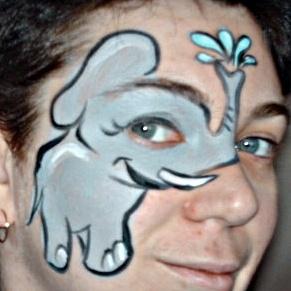 Elephant Face Makeup