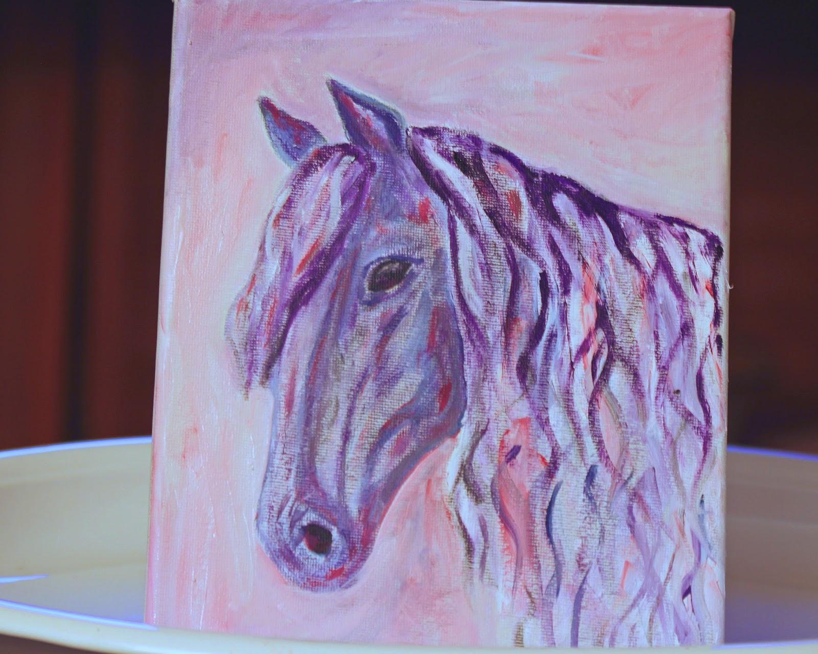 Simple Horse Paintings