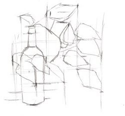 Drawing With A Plumb Line 2
