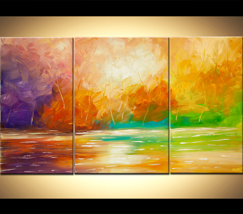 Abstract Scenery Paintings