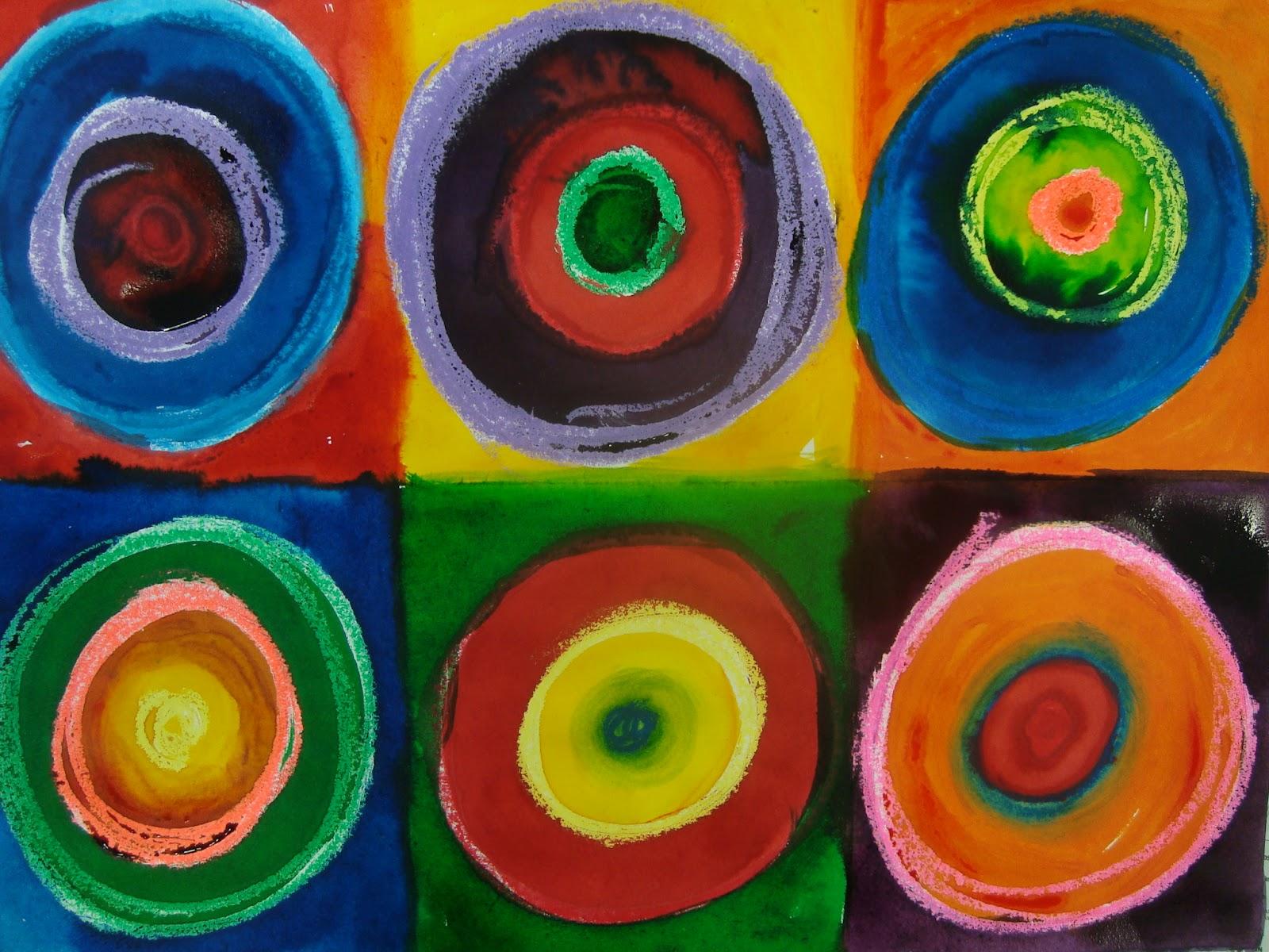 Kandinsky circle paintings
