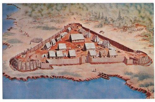 Jamestown paintings