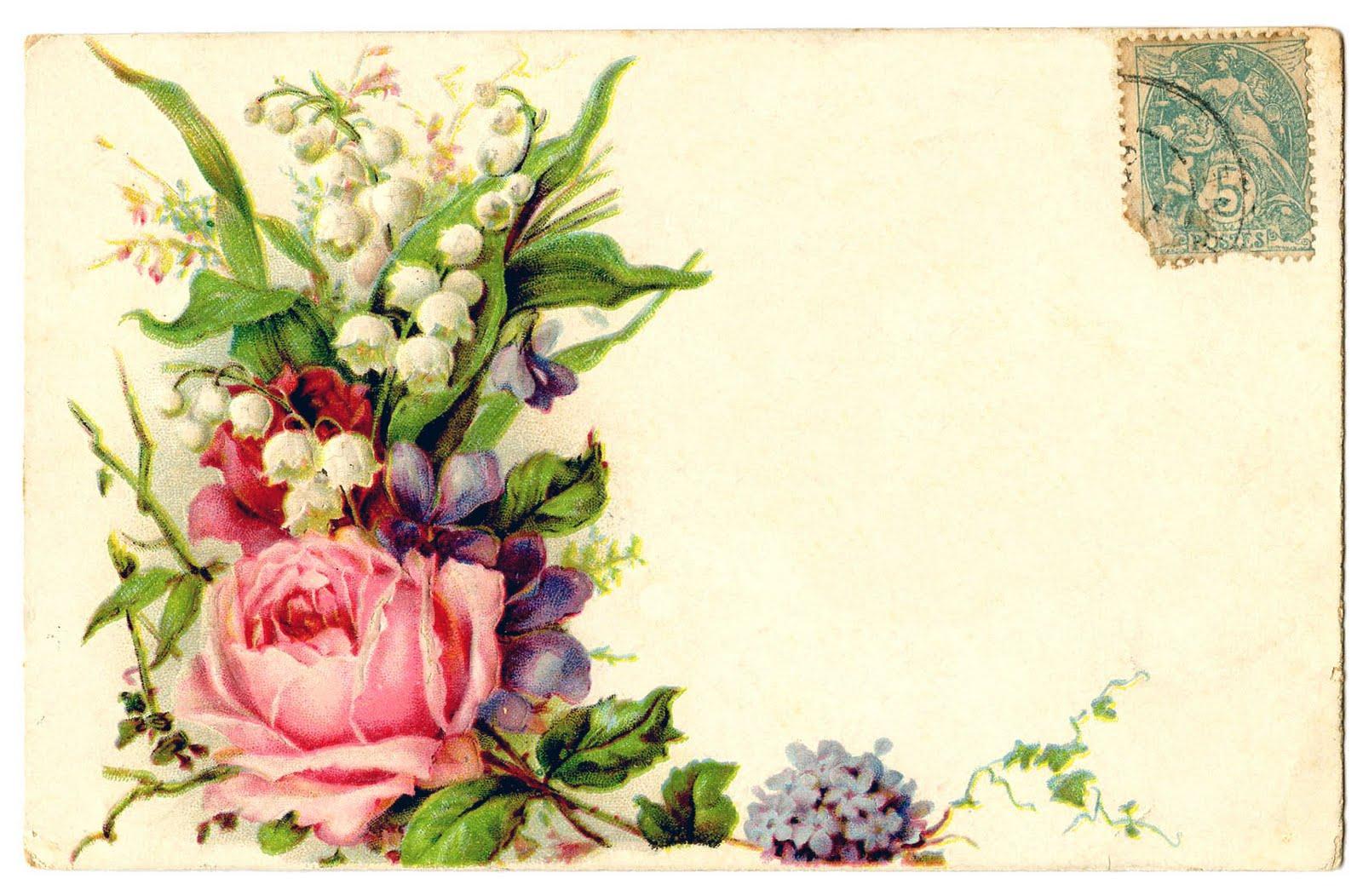 шаблоны старых открыток