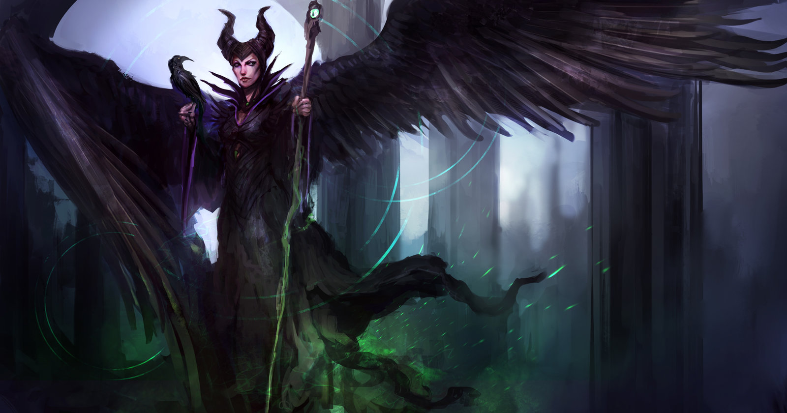 Maleficent Paintings