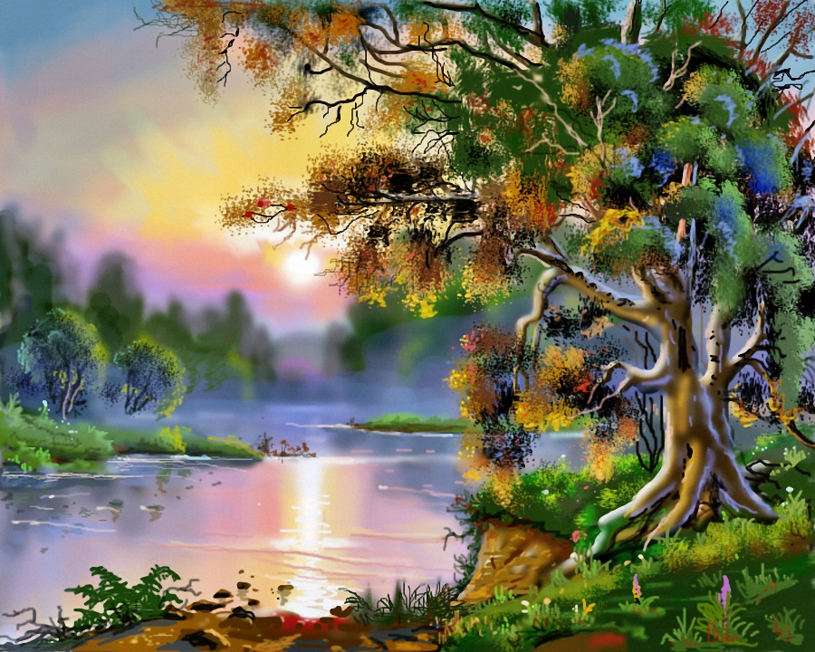 Paintings Art Of Nature