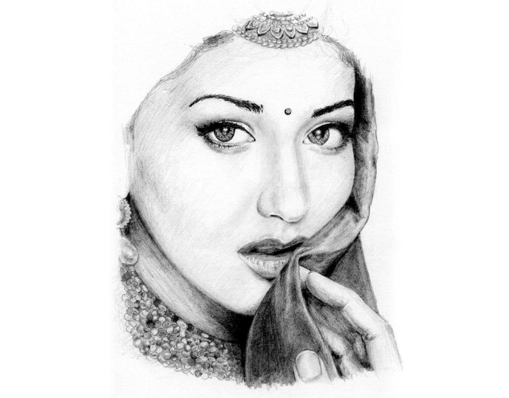 Draw your phots with pencil send me