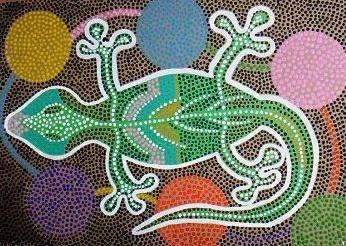 Aboriginal Animal Paintings
