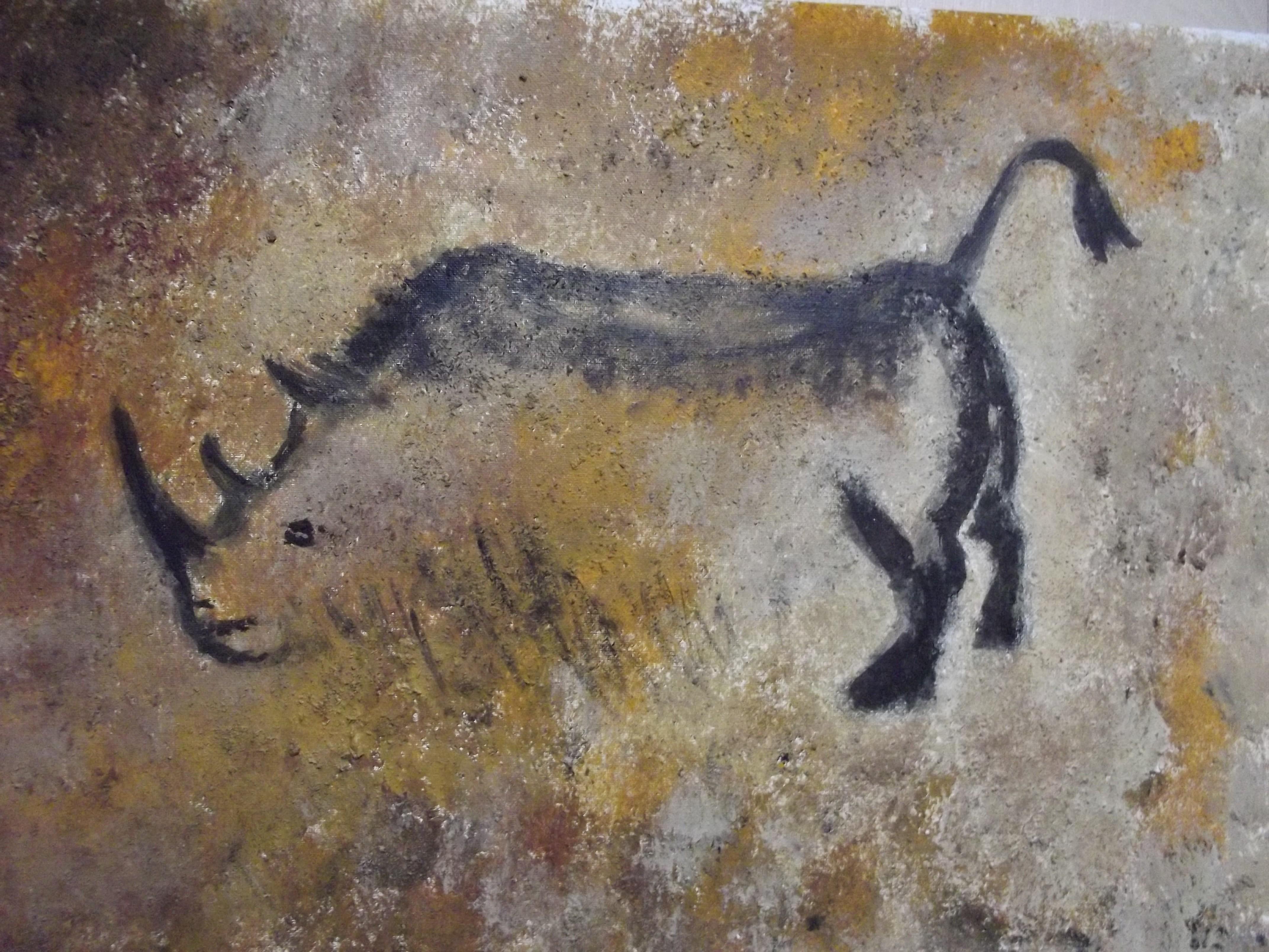 Rhino Cave Paintings