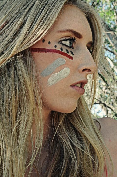 Indian Face Paintings