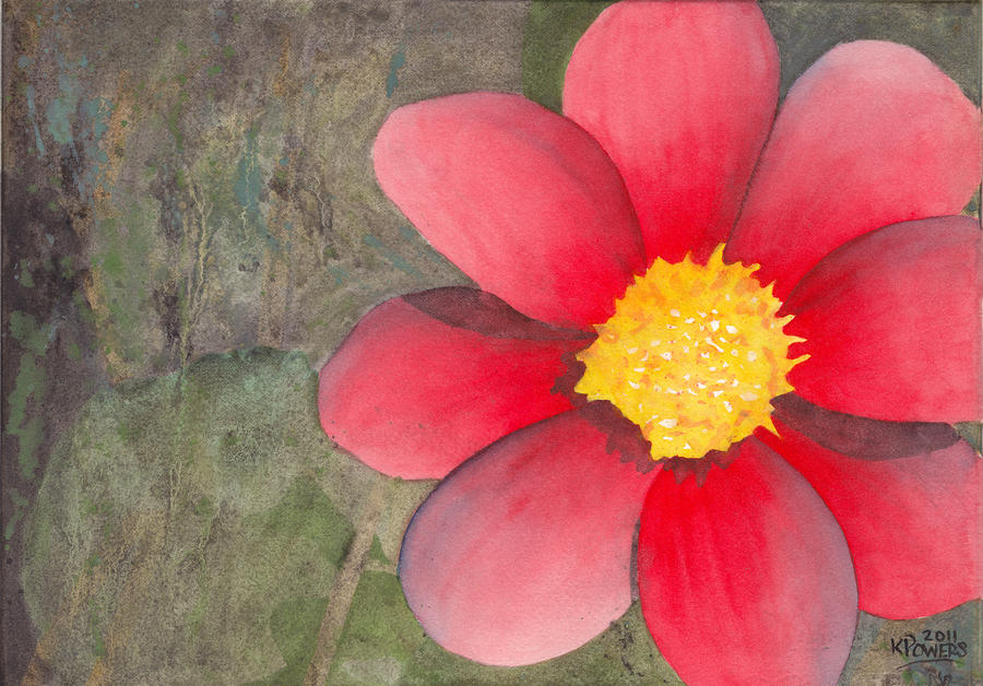 Simple Flower Paintings Images
