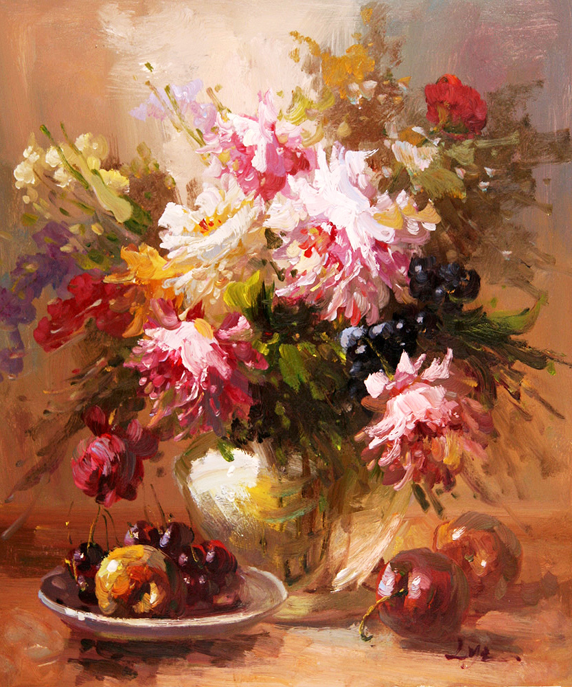 Beautiful Flowers Paintings