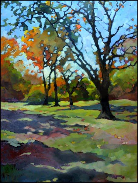Impressionist Tree Paintings