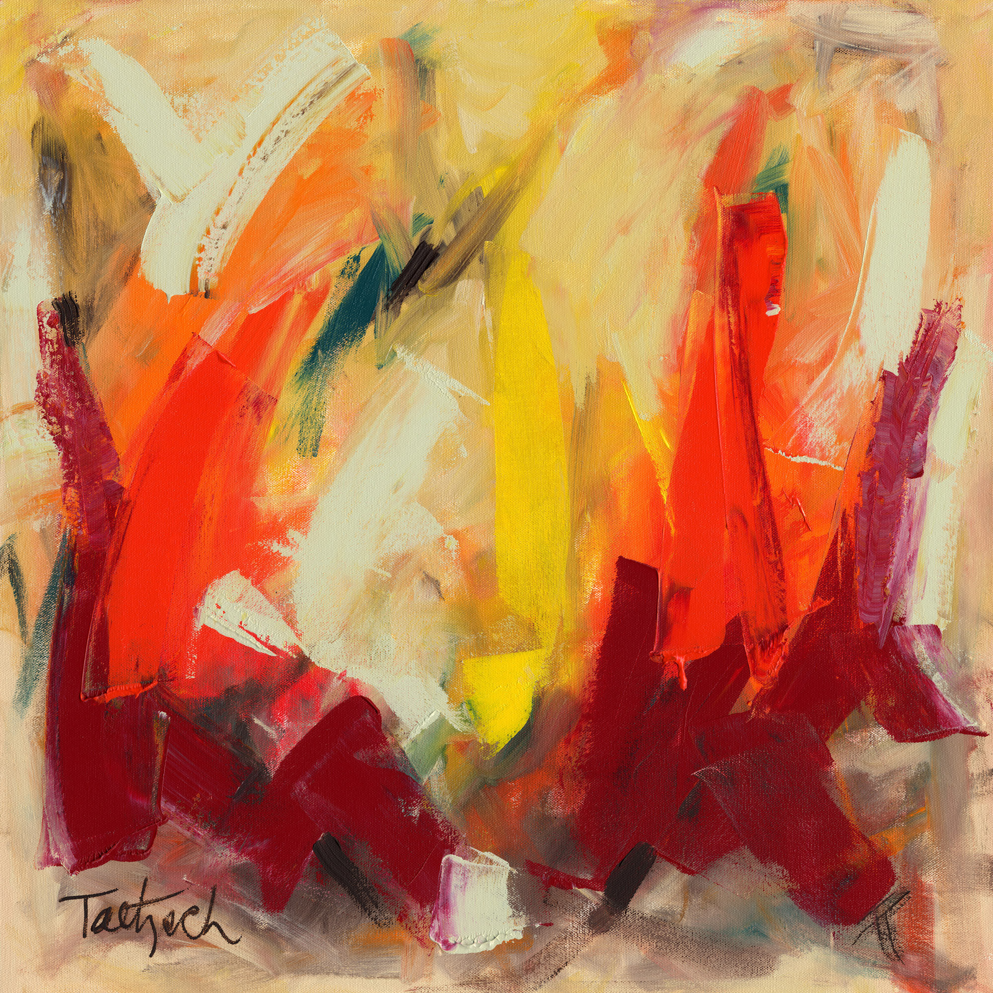 Beginners Abstract Paintings