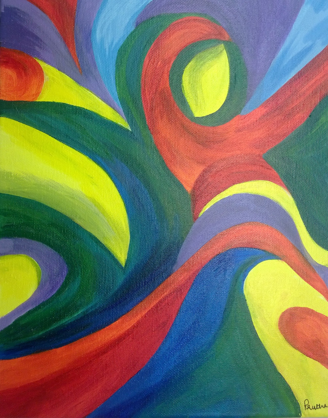 Easy abstract paintings