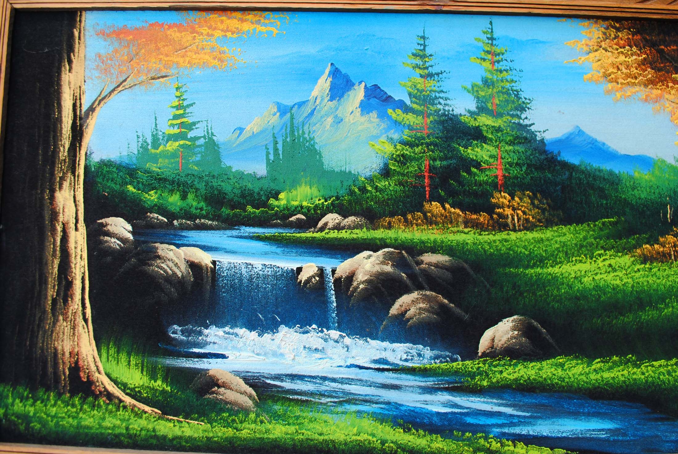 Beautiful Landscapes Paintings Scenery