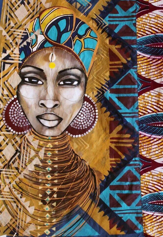 Beautiful African paintings